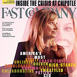 Audible Fast Company, November 2016 Periodical
