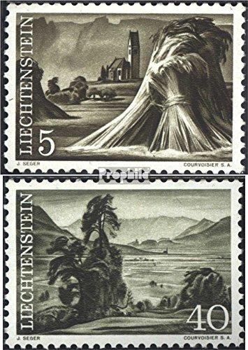 Liechtenstein 404-405 (Complete.Issue.) 1961 Landscape (Stamps for Collectors) Landscapes ()