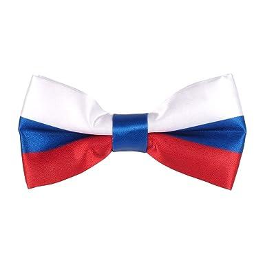cravateSlim Pajarita Bandera Rusa - Bandera Rusia: Amazon.es: Ropa ...