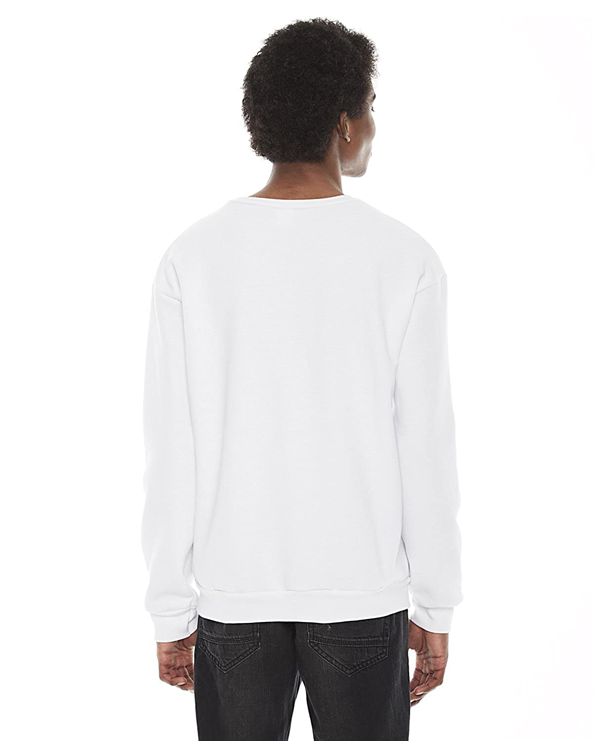 F496 Clementine American Apparel Flex Fleece Drop Shoulder Pullover Crewneck