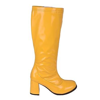 fe4787e5ca668 Kick Footwear Ladies Knee High High Block Heel Go Go Long Boots