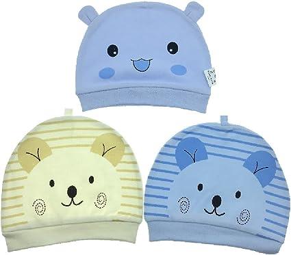 Bambino Appena Nato del Cotone del Bambino cap Beanie Cappelli Cappello Stampato per Ragazzo E Ragazza