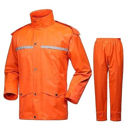 ZHWEI Impermeable For Hombre Core Pantalón Lluvia Chaqueta De ...