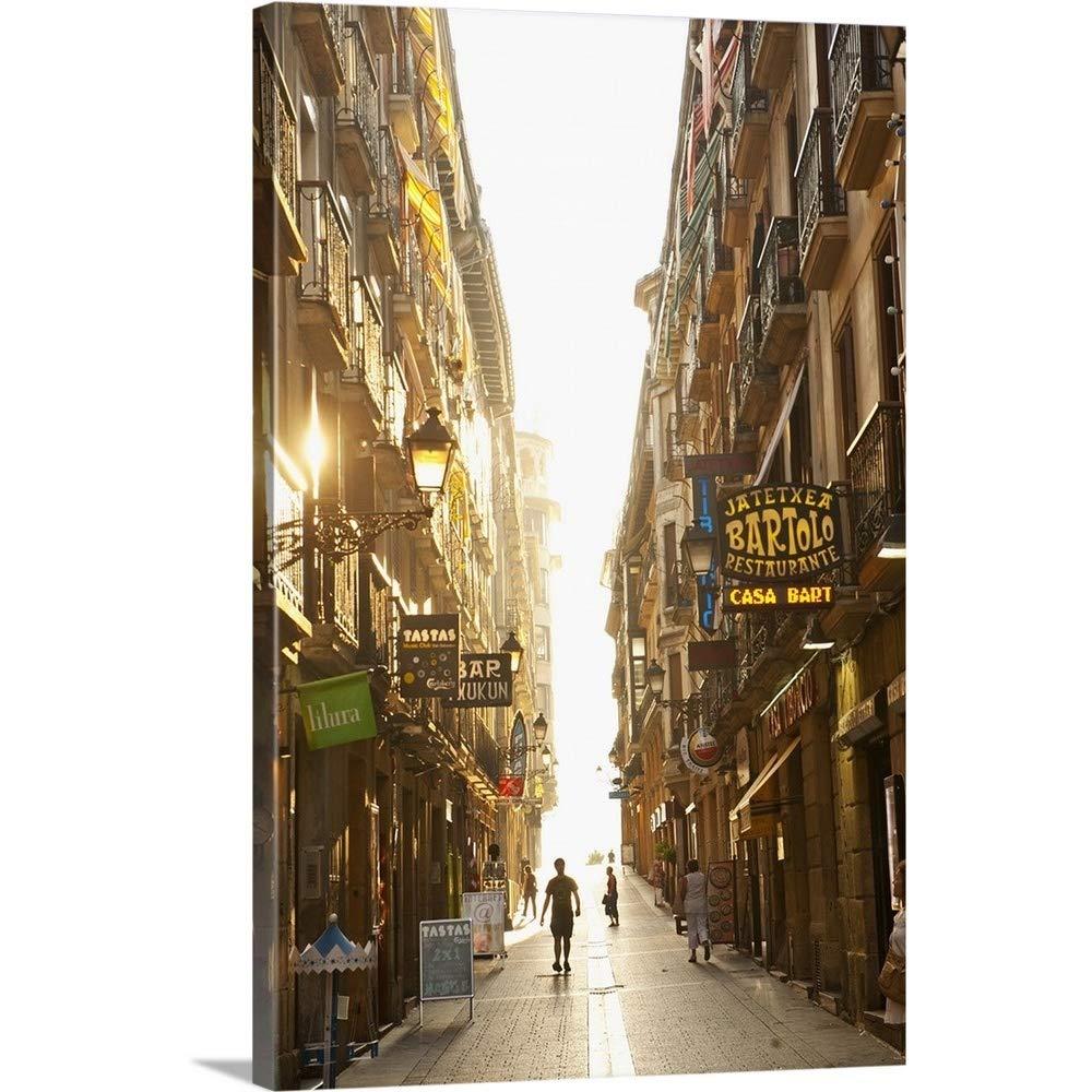 Amazon.com: Guido cozzi Premium thick-wrap Canvas Wall Art ...