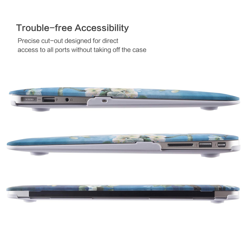 MacBook Air 13 Inch Case, TeenGrow Plastic Hard Protective Smooth MacBook Shell Case Keyboard Cover MacBook Air 13\
