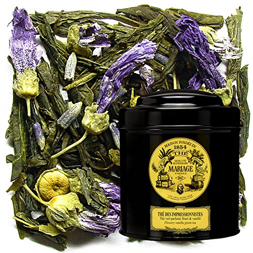 MARIAGE FRERES. THÉ DES IMPRESSIONNISTES, 100g Loose Tea, in a Tin Caddy (1 Pack) Seller Product Id MB24LS - USA Stock