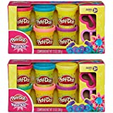 Play Doh Compound Bundle: 2 Packs of Play Doh Sparkle Compound