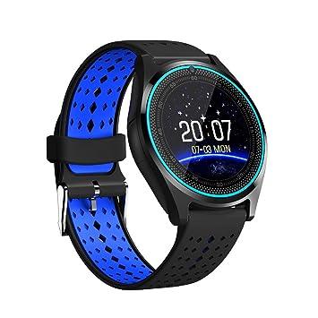 HIXGB Montre Connectée,Bracelet Connecté Fitness Tracker Dactivité avec Cardiofréquencemètre Appeler Lecture De