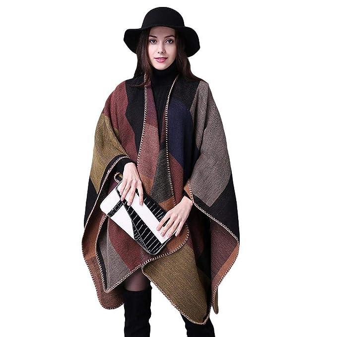 Edited Moda Mujer Chaqueta Casual de Lana Outwear Piel Abrigo Parka  Cardigan Capa by Venmo  Amazon.es  Ropa y accesorios 871f94475246