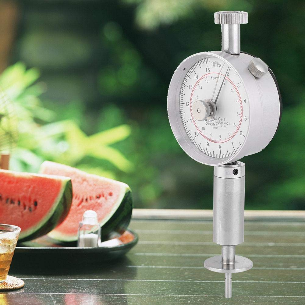 Strawberry Fruit Penetrometer,Fruit Hardness Tester,Farm Fruit Penetrometer,Machine with Measuring Head,GY-1,Special for inspecting The Hardness of The Fruits pear Such as Apples