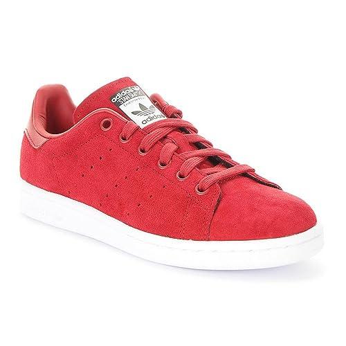 dd28024d398 adidas Originals Stan Smith W Mujeres Zapatilla de Deporte roja S75237