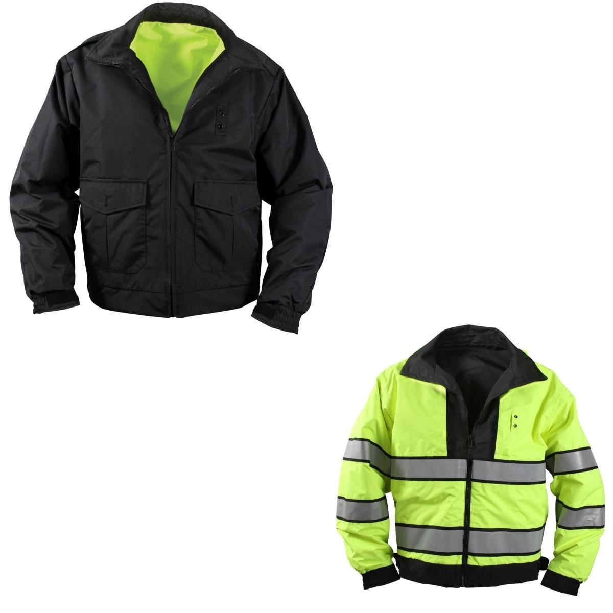 Rothco Reversible Hi-Visibility Uniform Jacket, X-Large by Rothco