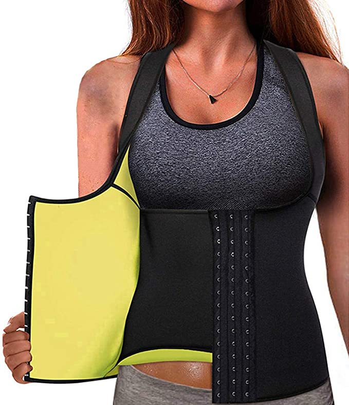 Imagen deMemoryee Cinturón de Entrenamiento de Neopreno para Mujer Corsé Chaleco de Sudor Pérdida de Peso Cuerpo Ajustable Shaper Workout Tank Tops