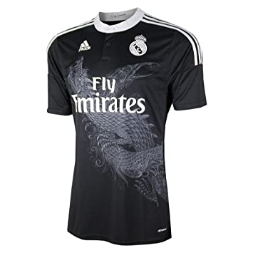 40f2cc2b8 adidas Climacool Football Jersey  14-15 Marcelo 12 Real Madrid Stadium  Dragon Series Jersey Men Soccer Fan Shirt L  Amazon.co.uk  Sports   Outdoors