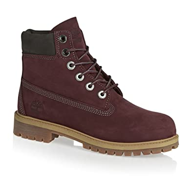 19ce09a4bd9e Timberland Preschool 6 in. Premium Boot Dark Port (1 M US Little Kid)