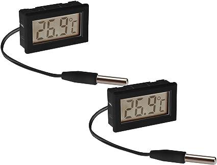 termometro interno//esterno Installazione Digitale Termometro con sensore di temperatura