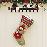 New Christmas Supplies Christmas Party Props Cartoon Christmas Socks Decorative Ornaments snowman