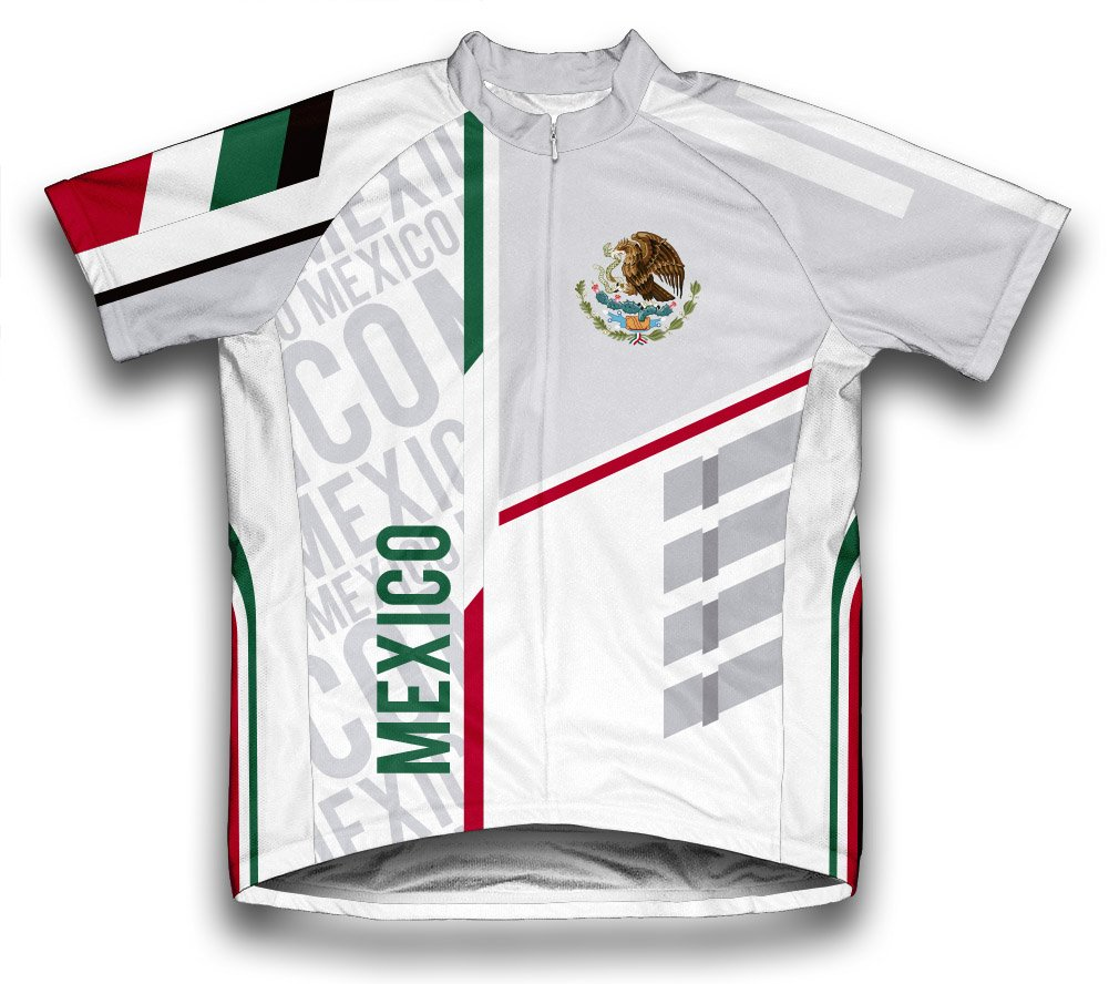 4dad22c59 Amazon.com   ScudoPro Mexico Short Sleeve Cycling Jersey for Men   Sports    Outdoors