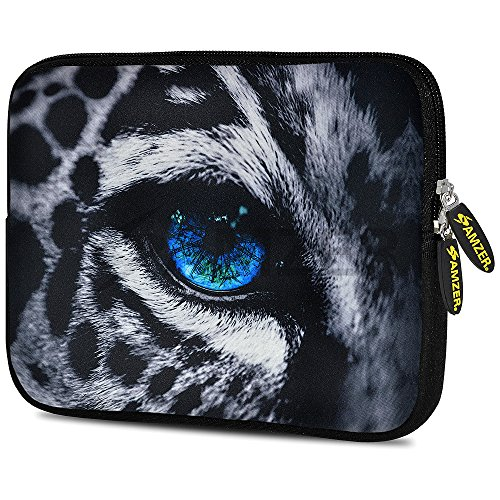 (Amzer 7.9-10.5 Inches Designer Neoprene Sleeve Case for iPad/Tablet/e-Reader and Notebooks, Wild Cat Eye (AMZ5248105))