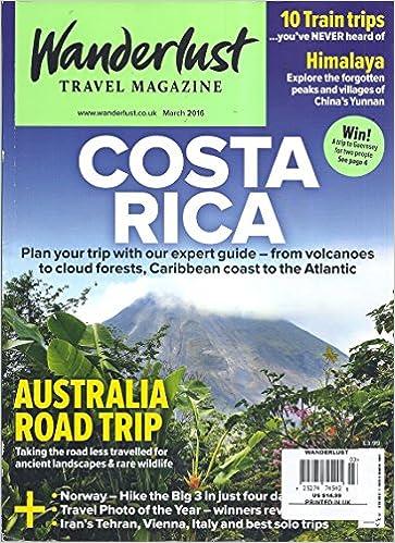 \BEST\ Wanderlust Travel Magazine (March 2016 - Costa Rica). Royal together Mobile Season design
