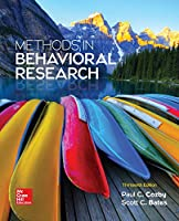 Methods in Behavioral Research, 13th Edition Front Cover