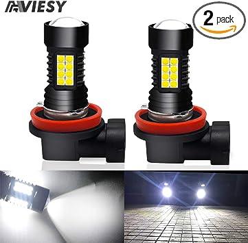 2pcs 6000K US High Power 9005 HB3 Cree LED 81 SMD Fog Light Bulbs Car Lamps