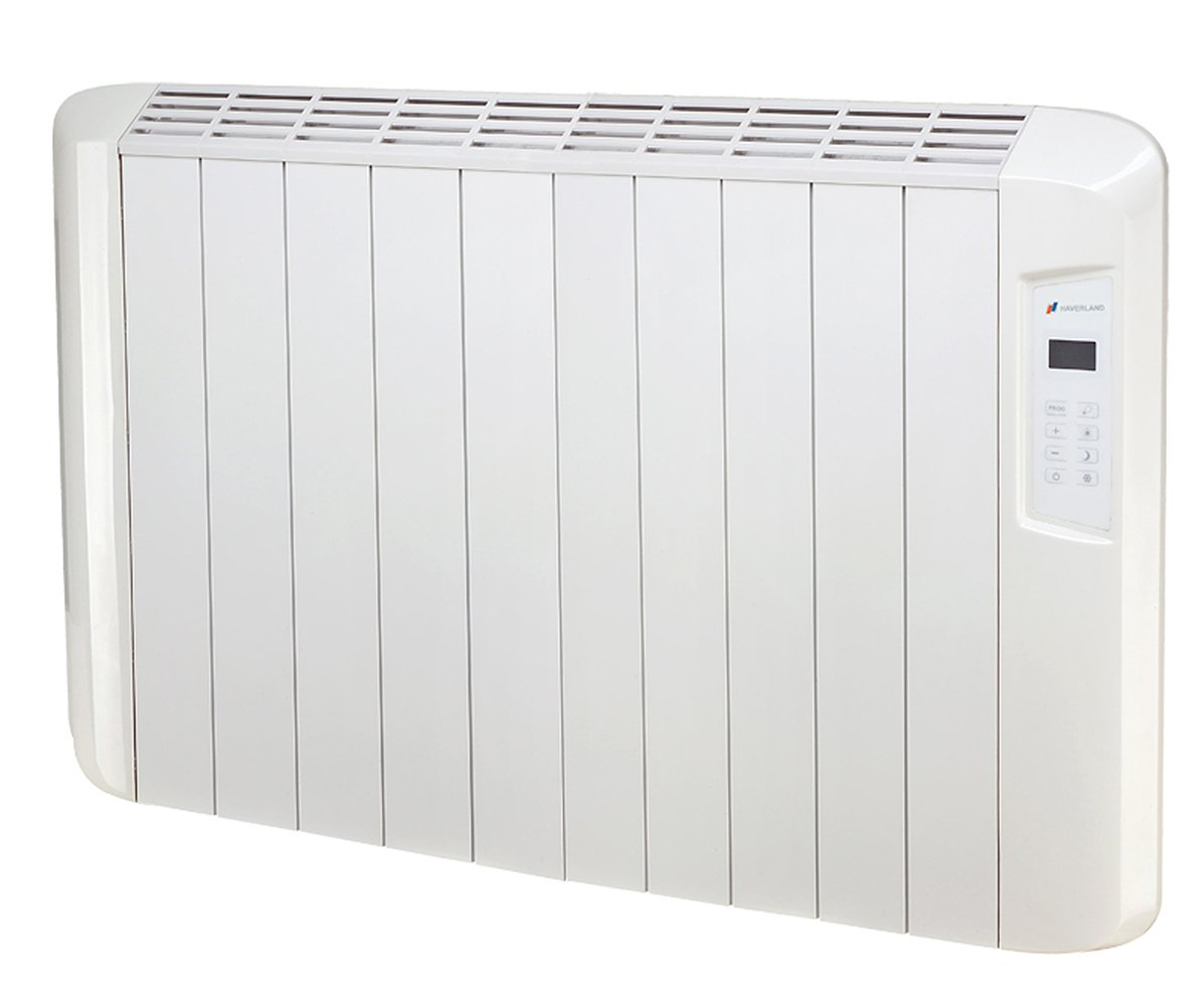 Haverland ES10D ES10D-Emisor Térmico Digital Seco, 1250 W, Color Blanco: Amazon.es: Hogar