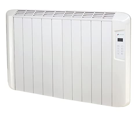 Haverland ES10D - Emisor Térmico Digital Seco, 1250 W, Color Blanco