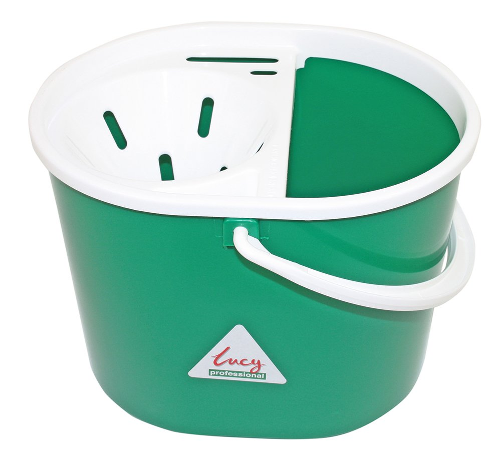 Lucy Oval Mop Bucket Green 15 Litre SYR CL056-G