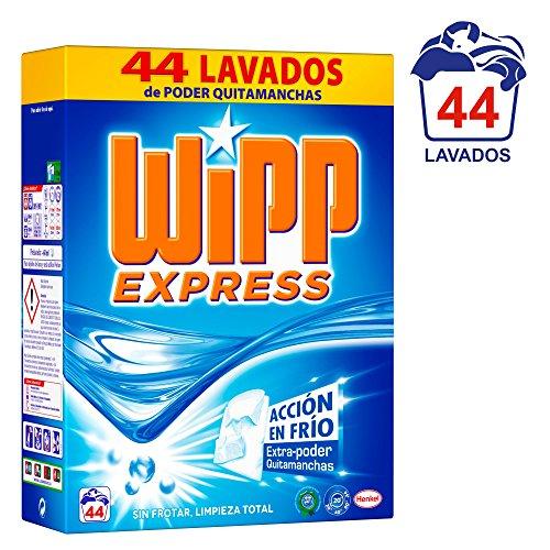 Wipp Express Detergente en Polvo - 62 Lavados (3,84 Kg)