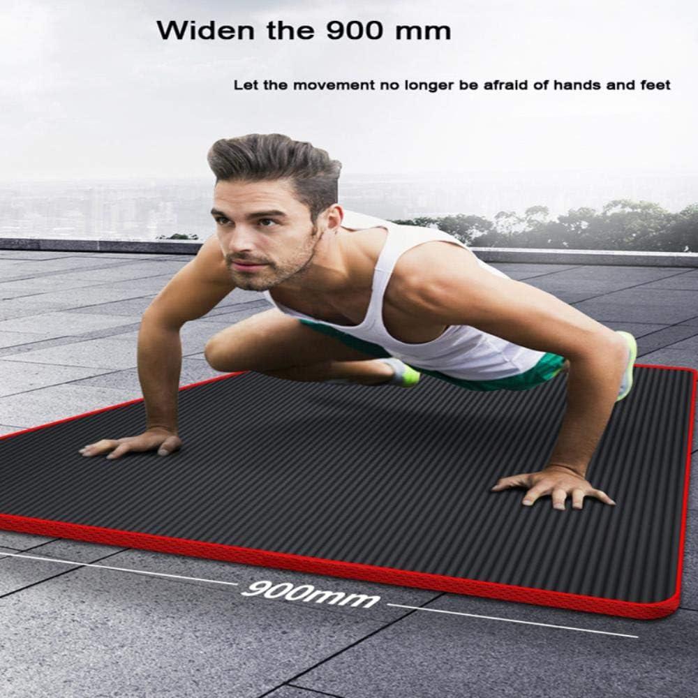 IONE 200 90 90 cm X 15 mm 1.5 cm NBR Tapis de Yoga Hommes Fitness Sports /Épaississement Large Allong/é Antid/érapant Sports Maison D/ébutant Tapis de Yoga