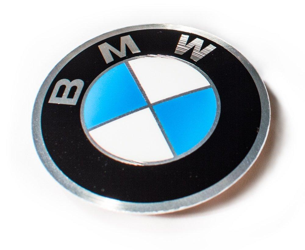 Logo-Emblem 45 mm Zentrum des Lenkrad Cap Insignia-Label gummiert