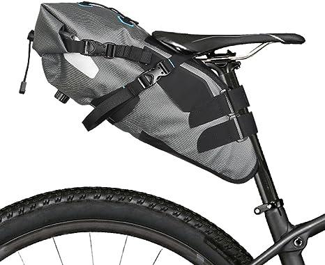 Lixada 7L impermeable para bicicleta bolsa para sillín de ...
