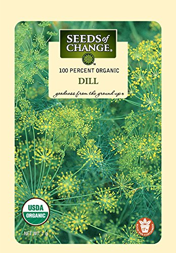 Seeds of Change Certified Organic Dill - Dill Seed Weed