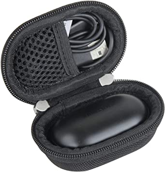 Amazon Com Hermitshell Travel Case For Samsung Galaxy Buds Galaxy Buds Plus Bluetooth True Wireless Earbuds Black Home Audio Theater