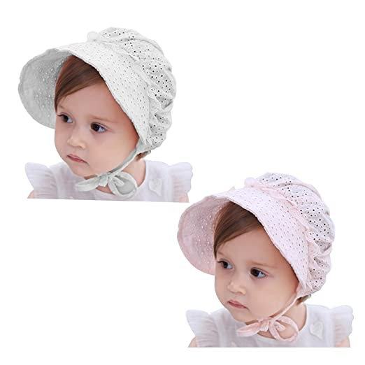 My Little Baby Baby Girls Sun Hat Summer Baby Hats Fashion Hollow Sun  Protection Caps Floppy 59070e6706f