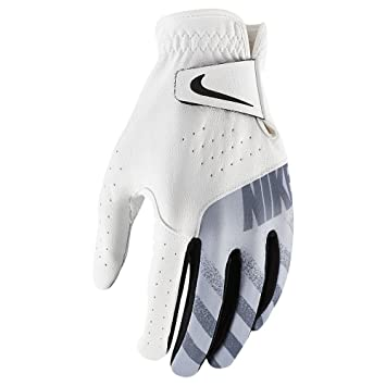 new arrivals 7683f d275f Nike Sport Gant de Golf (Standard gaucher) Femme, White Black