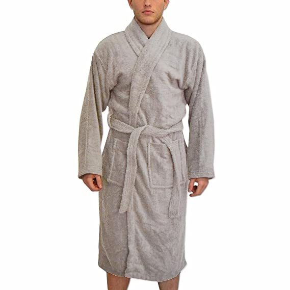 Bang Tidy Clothing Men\'s Personalised Bathrobes Deluxe Dressing ...