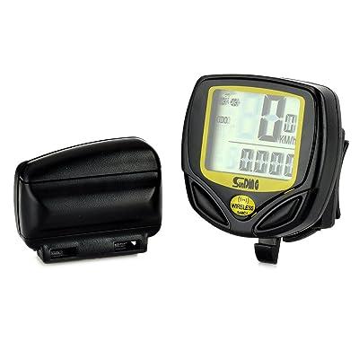 Sans fil Étanche ordinateur de vélo Odomètre Compteur de vitesse numérique
