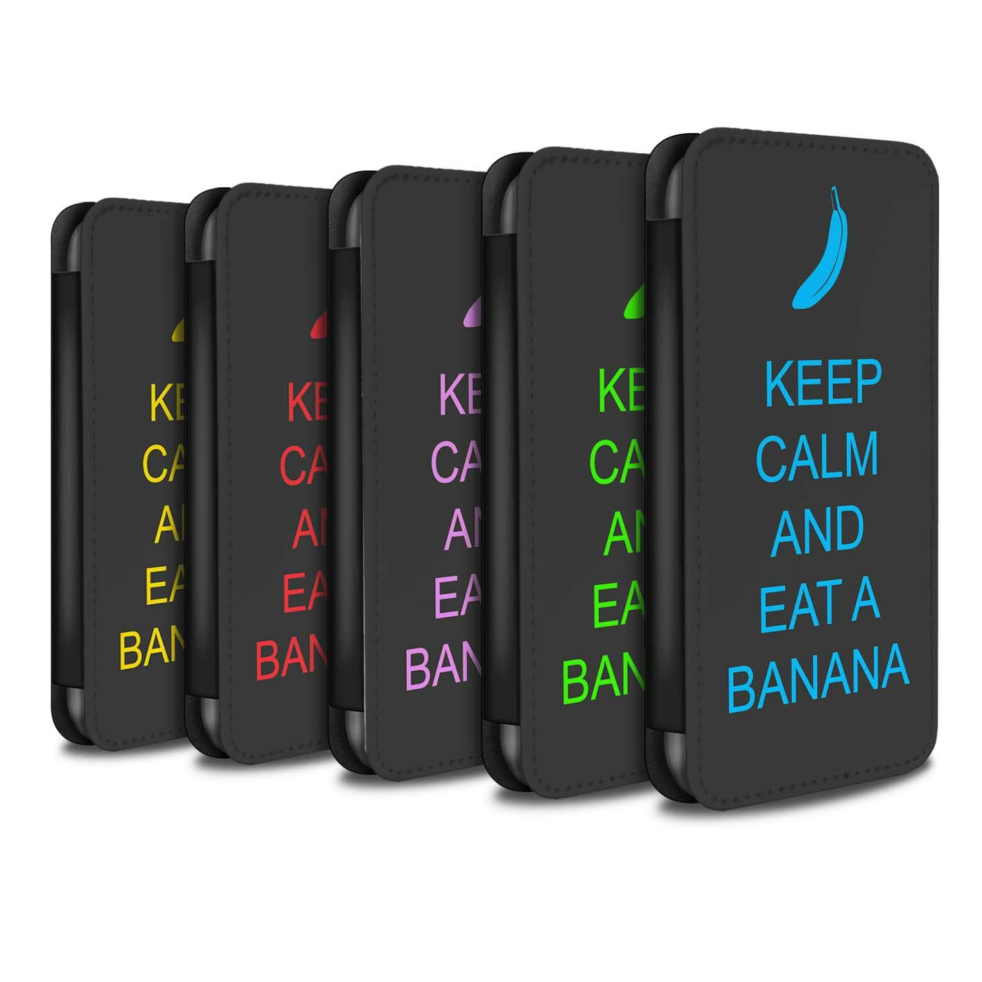 eSwish PU Leather Wallet Flip Case/Cover for Huawei P Smart/Pack 25pcs Design/Keep Calm Collection
