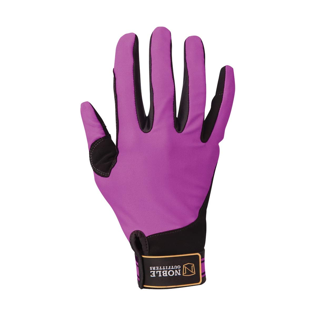 Noble Outfitters Gloves Mens Women Perfect Fit Cool Mesh 8 Black 50009