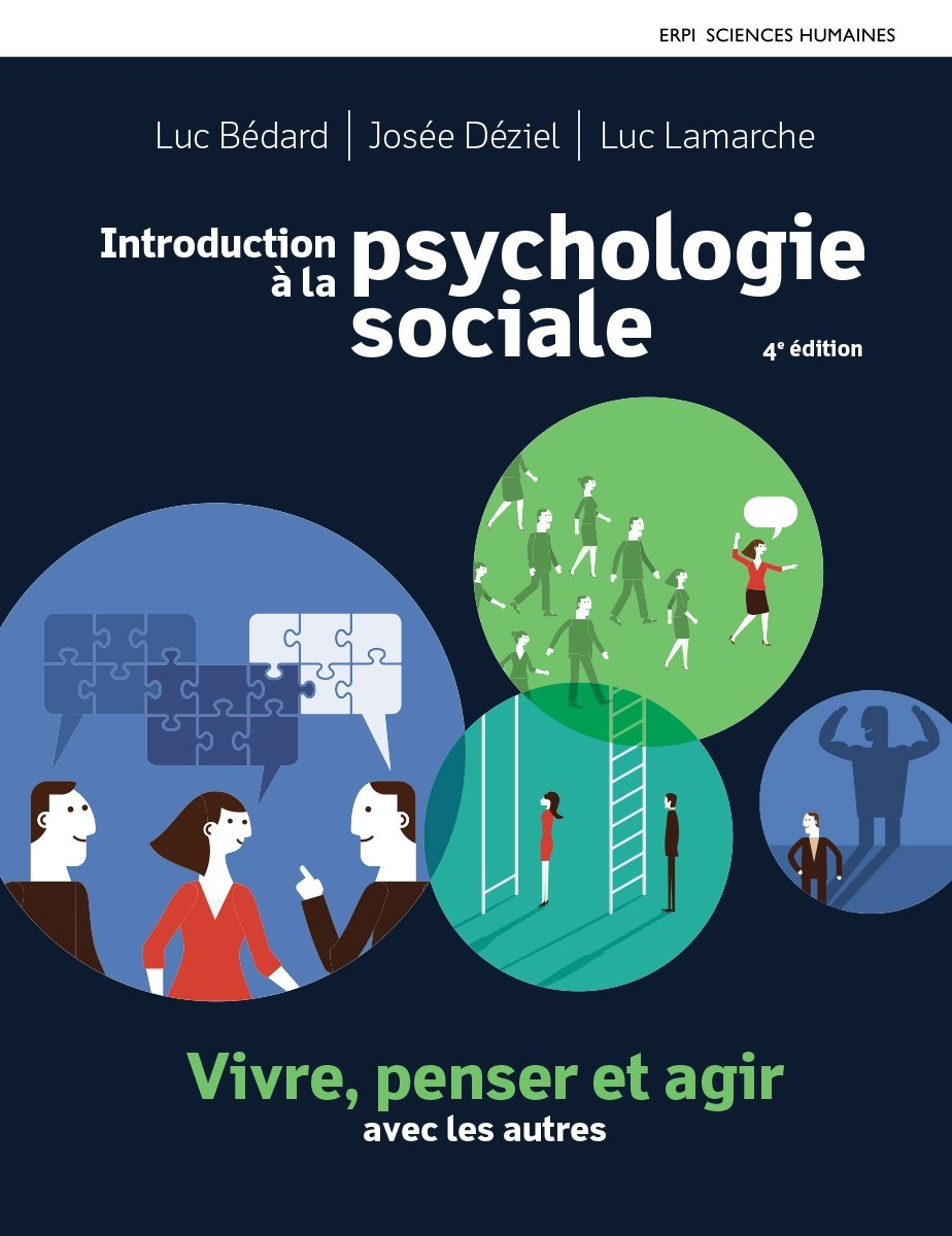 Introduction à la psychologie sociale 4e édition : Manuel   Édition en ligne   MonLab   Multimédia (12 mois)