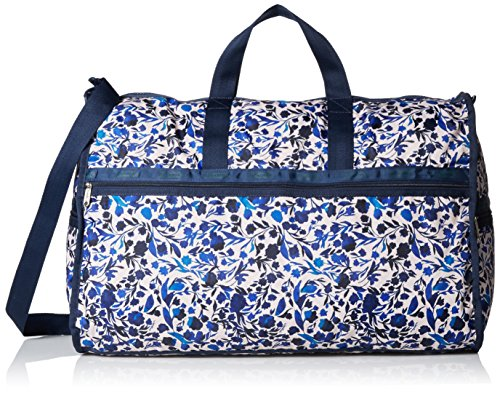 LeSportsac Extra Large Weekender Duffle Bag, Blooming Silhouettes, One Size Blooming Silhouette