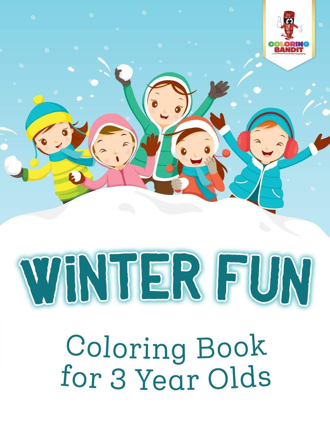 Coloring Books For 3 Year Olds