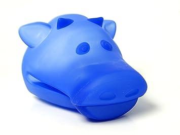 DESIGN Silikon-Topflappen Topfhandschuh Silikonhandschuh para estufa y ollas ilamo (azul)- Modelo de la vaca: Amazon.es: Electrónica