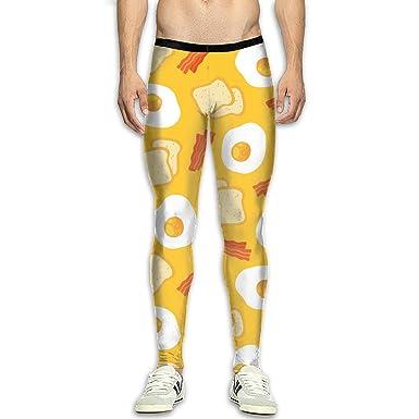 Amazon.com: Leggings de compresión para hombre, pantalones ...