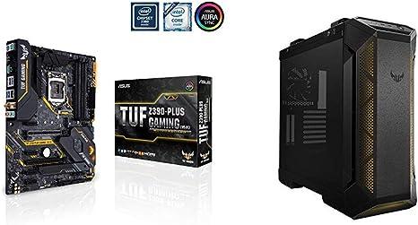 ASUS TUF Z390-PLUS Gaming (WI-FI) + Caja TUF GT501 Cristal Templado: Amazon.es: Informática