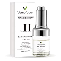 Tea Tree Acne Treatment Serum Pimple Repair - Clear Skin Retinol Serum for Acne...