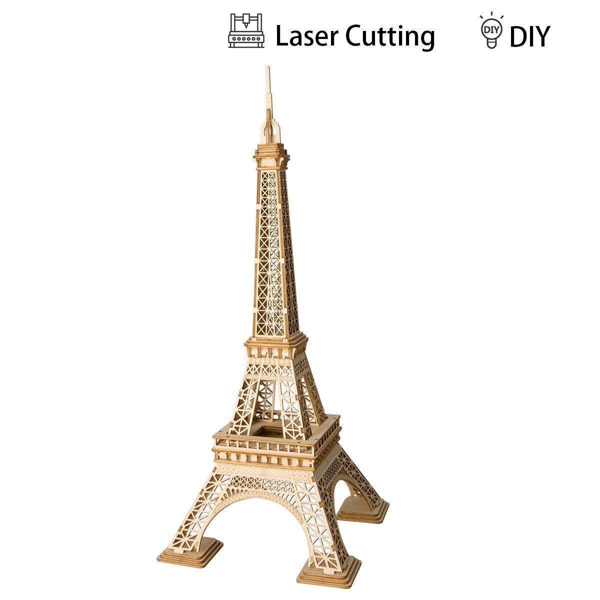 【超特価】 ROBOTIME ティーン 3Dタワー 木製ジグソーキット DIY 木製パズル DIY ハンドクラフト 機械式玩具 ROBOTIME 子供 ティーン 大人 ギフト B07DJ2V8LR, 【国際ブランド】:da2de318 --- a0267596.xsph.ru