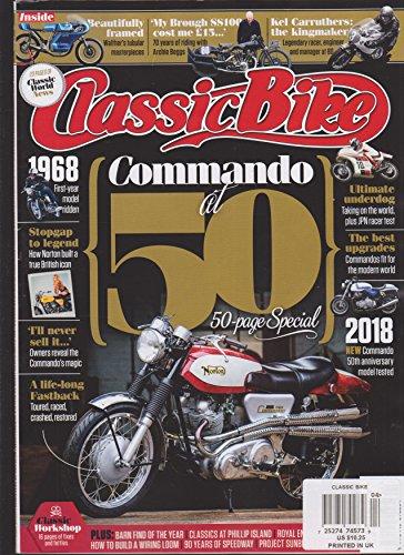 Classic Bike Magazine Apri 2018